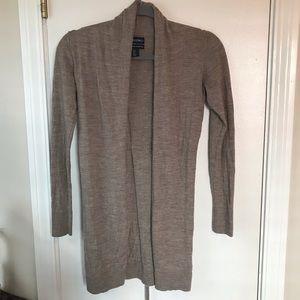 Light Brown Cynthia Rowley Cardigan Sweater